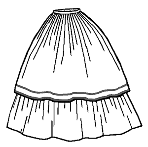 Renaissance Inspired likewise  additionally Elephant Mobile furthermore 2t Circle Skirt Pattern in addition The Birth And Death Of The Victorian Bustle An Apologia. on hoop skirt