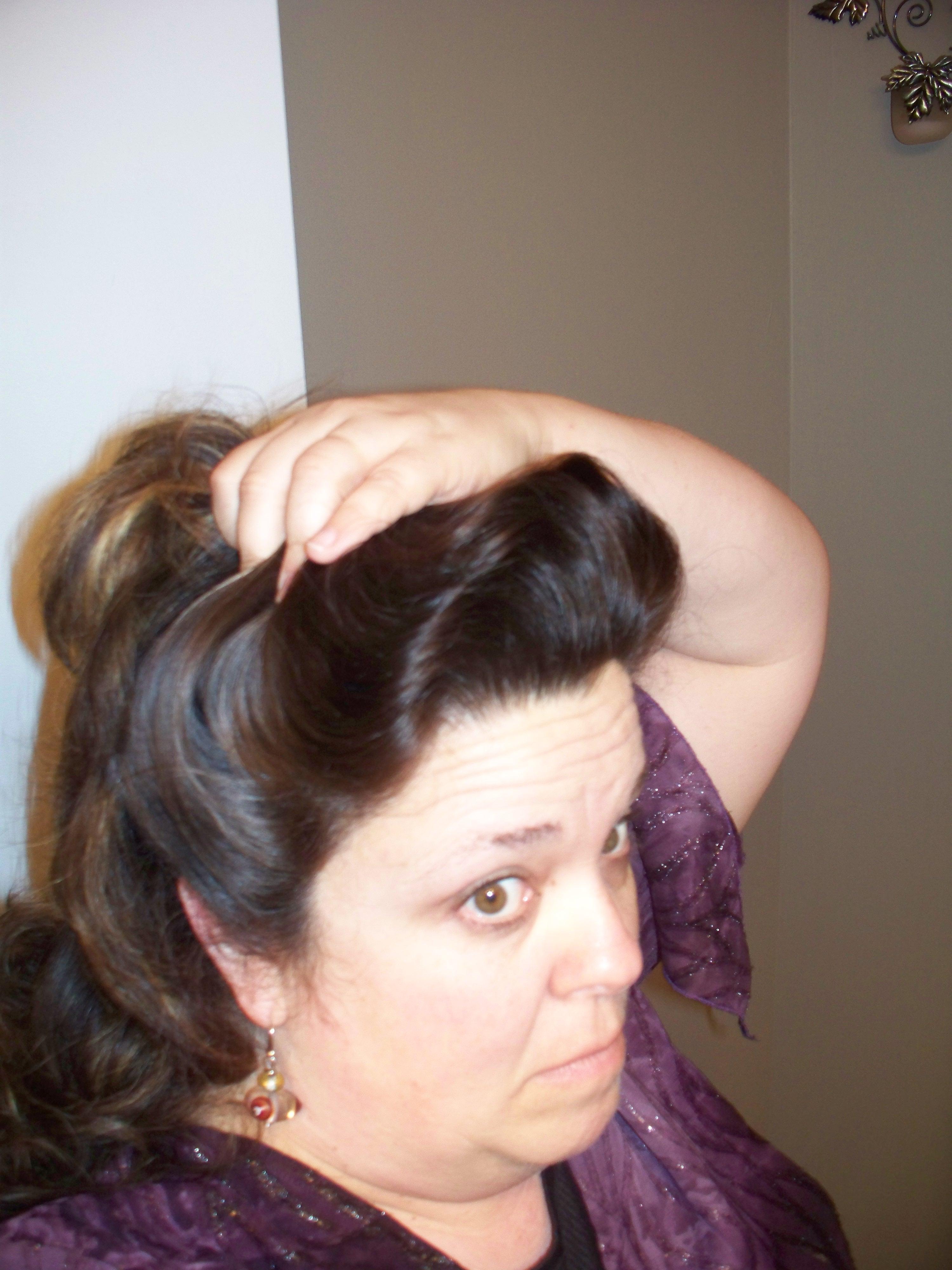 How i do my gibson girl hair for everyday wear wanda b victorian just baditri Gallery