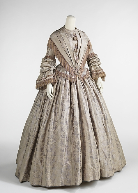 1848 dress afternoon a