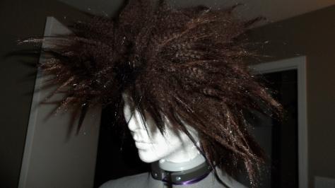 Trudy's hair.