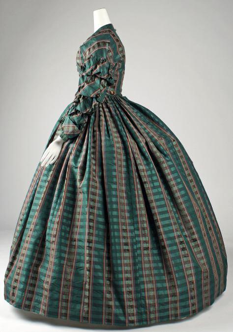 1960 dress plaid b
