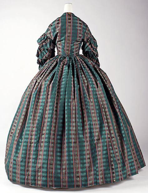 1960 dress plaid c