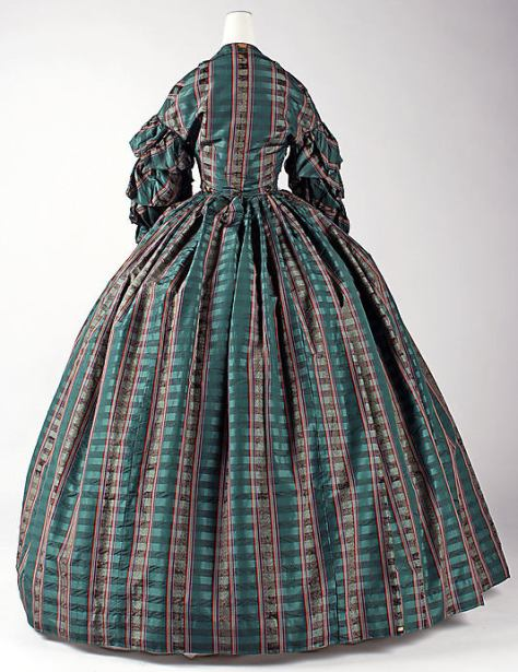 1960 dress plaid c