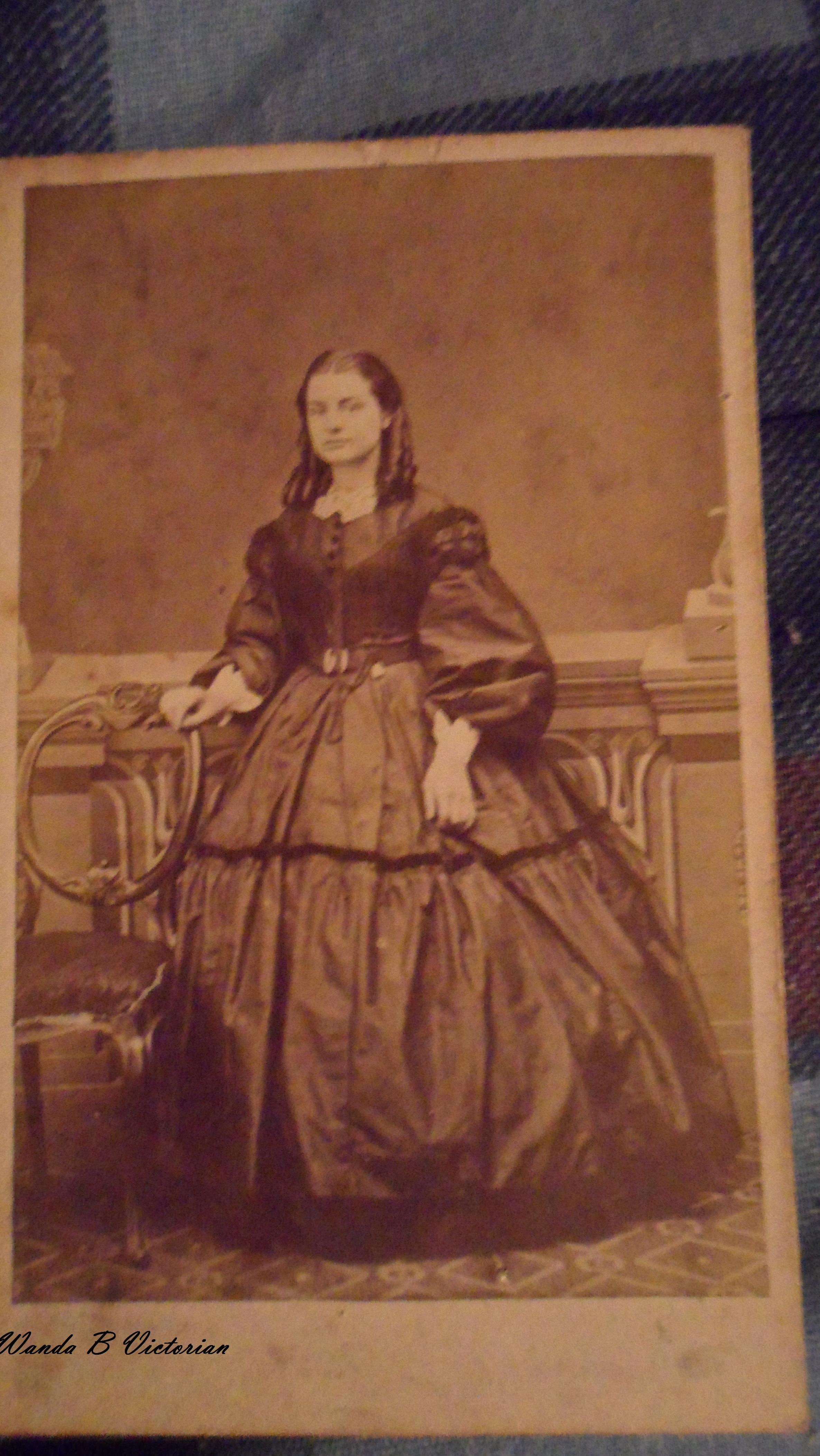 Does This Lovely 1860s Carte De Visite Warm You Up