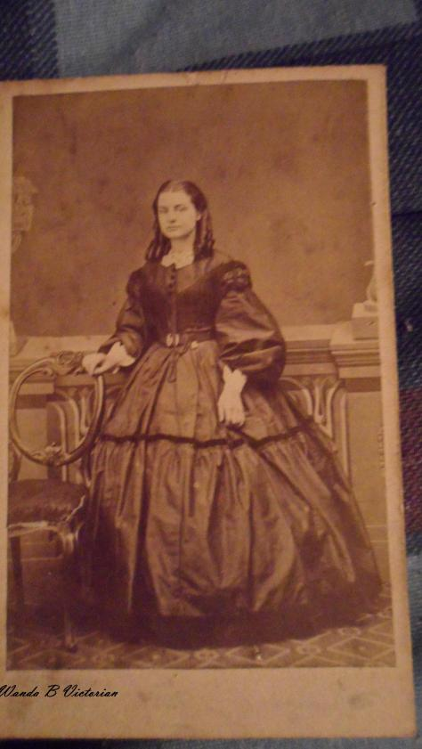 Does this lovely 1860's carte de visite warm you up?