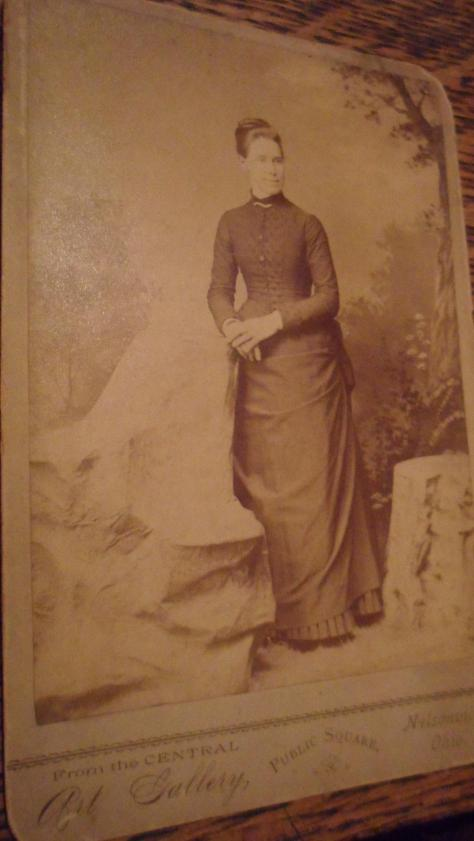 I'm guessing, by the dress, that it is an 1880's picture.