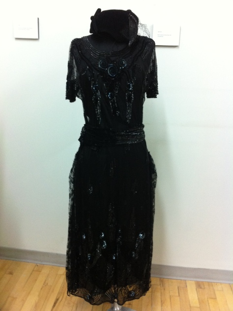 This dress was dated 1922-24