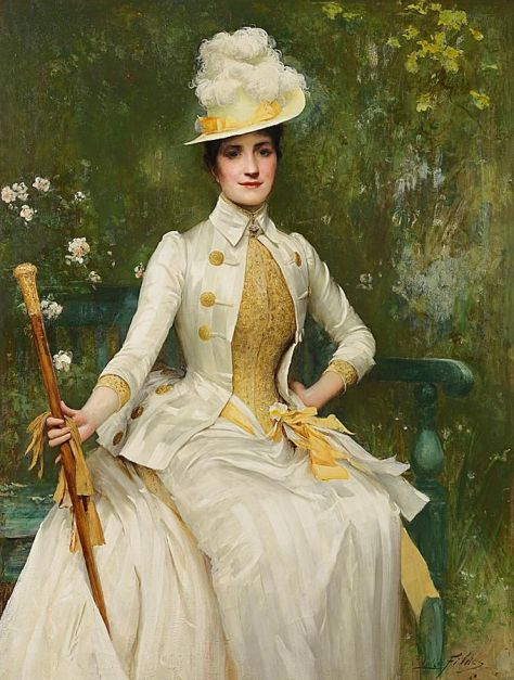Mrs-Lockett-Agnew-by-Sir-Samuel-Luke-Fildes 1887-88