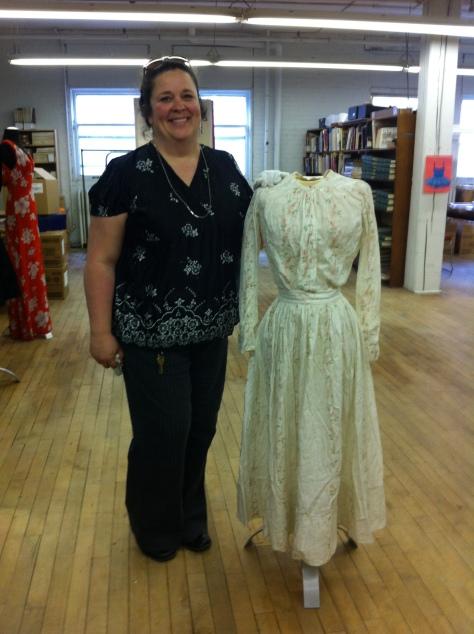 1880's teen's dress a