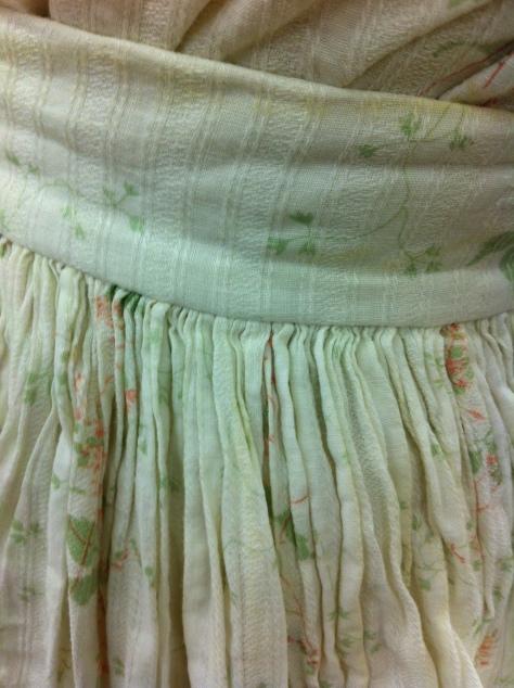 1880's teen's dress d