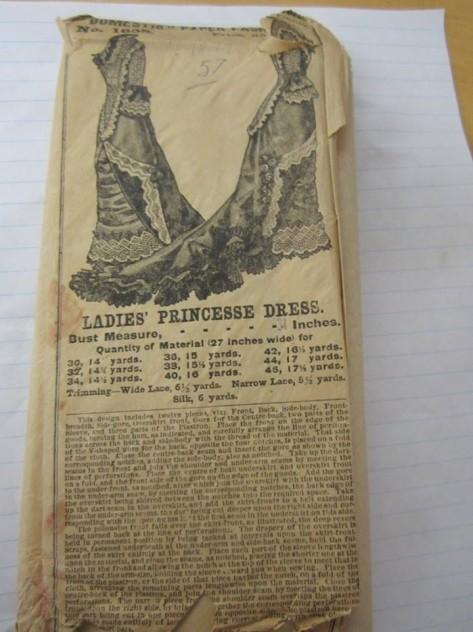 La pièce de résistance 1877 dress.