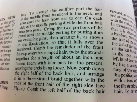 1871 hair how to d