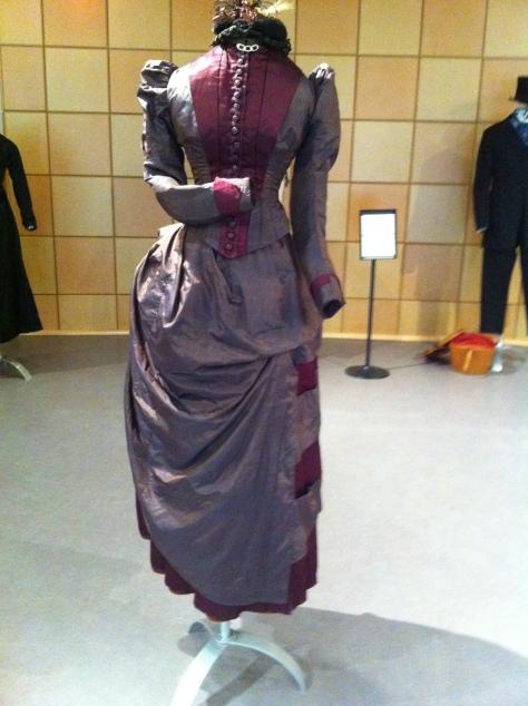 1880's dress 2 tone CMC a