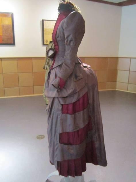 1880's dress 2 tone CMC b