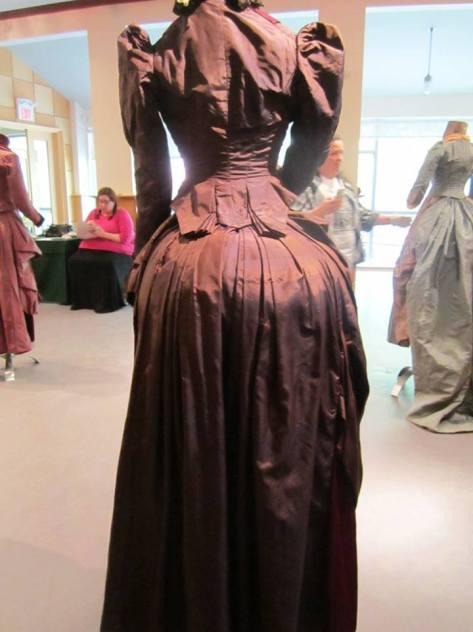 1880's dress 2 tone CMC c