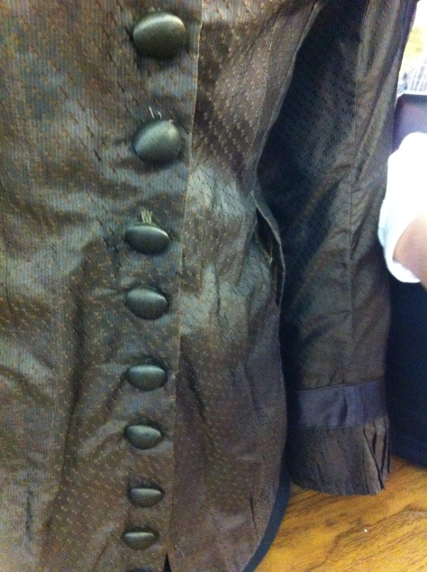 1880's dress brown CMC c