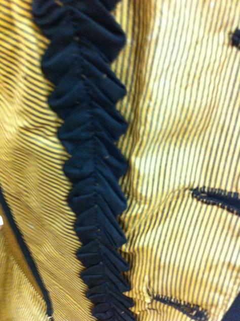 1880's dress military gold e