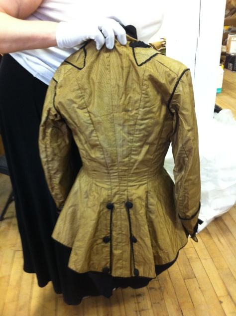 1880's dress military gold i