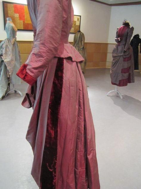 1880's dress wine CMC d