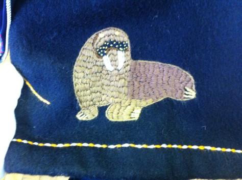 A walrus.