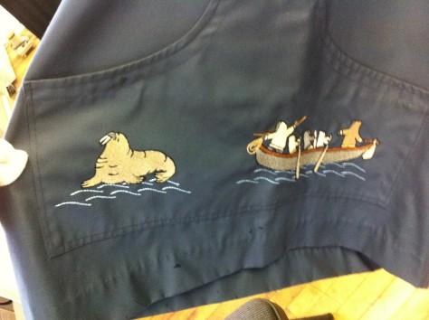 Inuit over coat 2