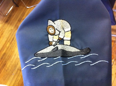 Inuit over coat 5