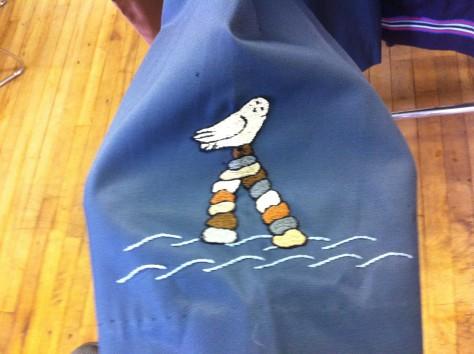 Inuit over coat 6
