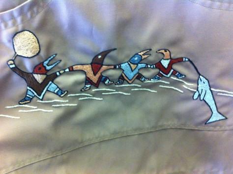 Inuit over coat 8