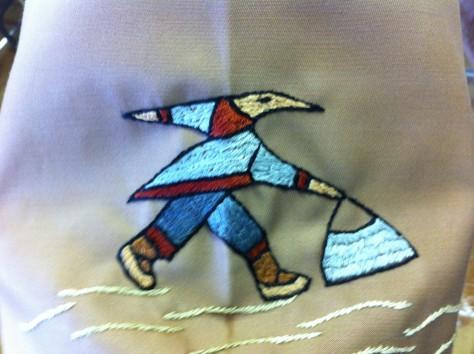 Inuit over coat 9