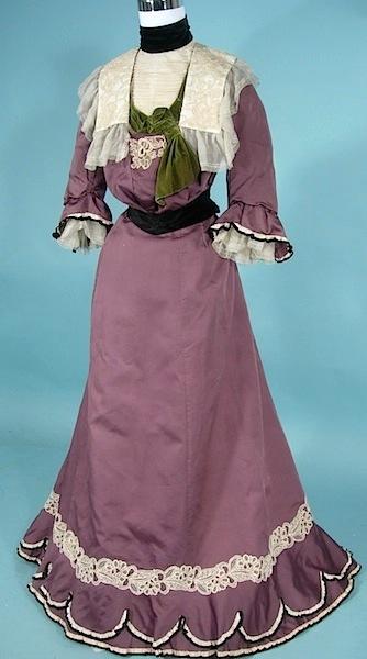 1900 antique dress LavendarNeilGibsona