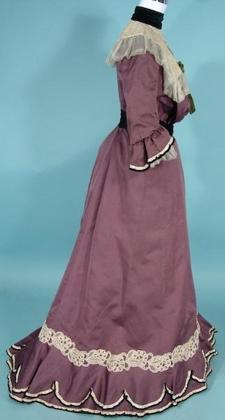 1900 antique dress LavendarNeilGibsonb