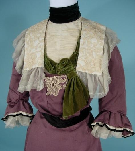 1900 antique dress LavendarNeilGibsond