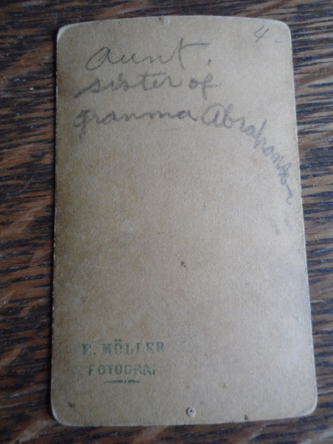 Aunt.  Sister of Gramma Abrahamson.
