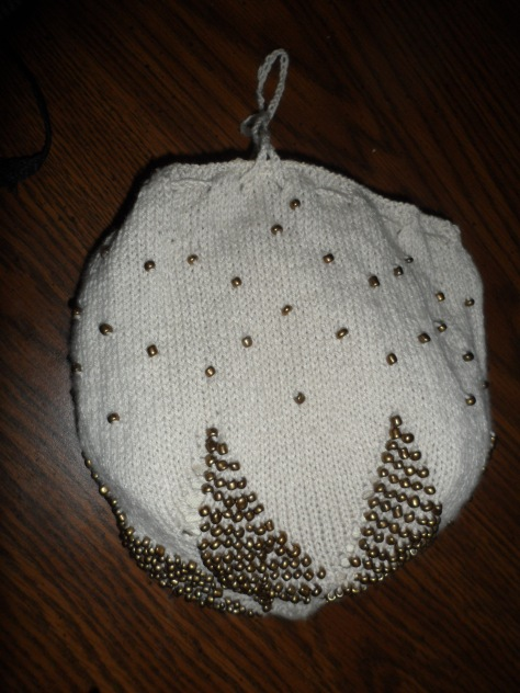 Another beaded bag.
