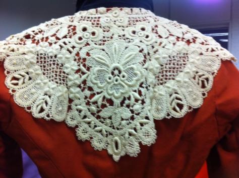 1890 copper dress CMC d