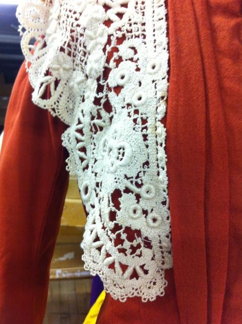 1890 copper dress CMC f