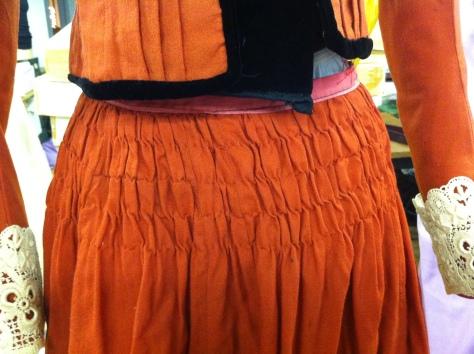 1890 copper dress CMC h