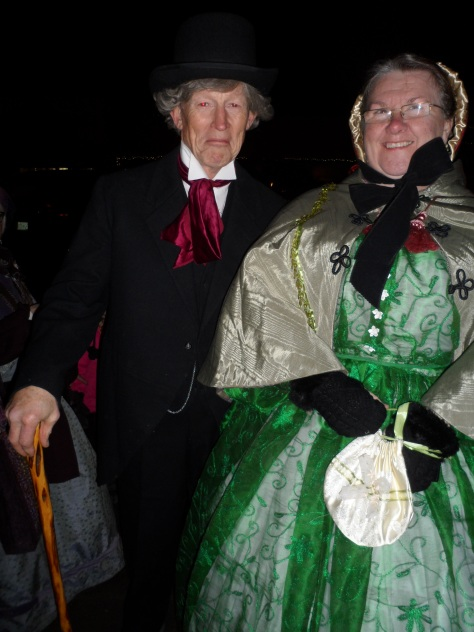 Shirley found the very evil Mr. Scrooge!