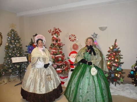 This is what Shirley and I wore the first night at the Dickens Festival.