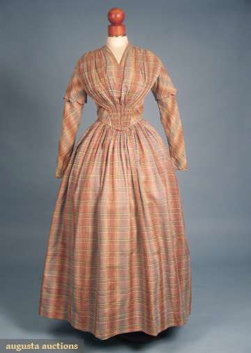 1840-49 dress day a Augusta Auctions