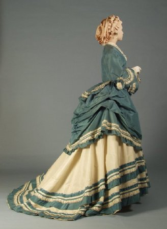 1866-70 dress two tones Kent Uni b