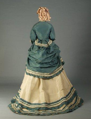 1866-70 dress two tones Kent Uni c