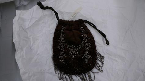 1896 beaded bag velvet a